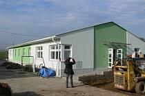Nová administrativní budova Technických  služeb Chrudim.