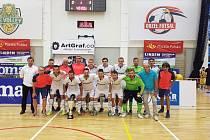 Vítězná sestava Chrudimi na turnaji Futsal Masters 2019