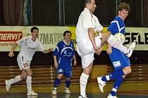 Z futsalového utkání Era-Pack Chrudim - Eco Investment  Praha.