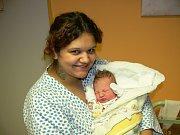 SIMON NETUŠIL. Sandra a Petr z Chrudimi se 30.10. ve 21:16 stali poprvé rodiči. Jejich Simon vážil 3,25 kg a měřil 48 cm.