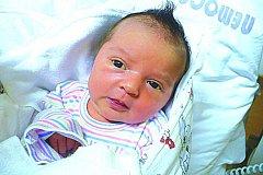 IZABELA ČERMÁKOVÁ (3,3 kg a 49 cm) je od 13.2. od 9:38 prvorozenou dcerou Beaty a Jana z Lukavice.