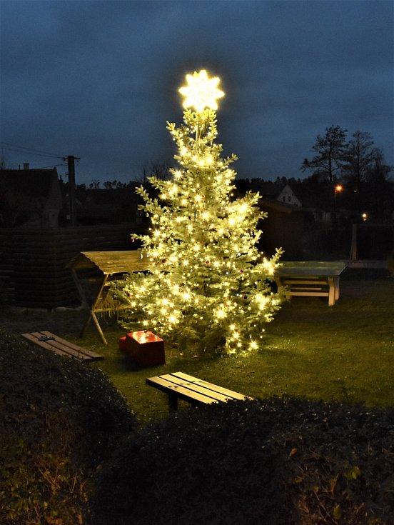 Vánoční strom v Kunčí