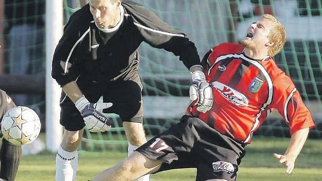 """Za specialistu na pokutové kopy se Milan Ždánský nepovažuje. """"V Ústí jsem měl spíš kliku,""""  přiznává."""