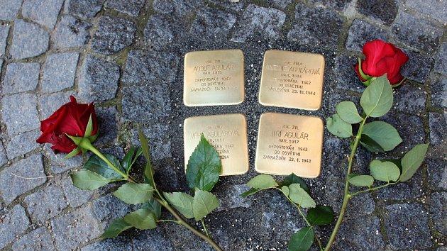 V Chrudimi byly ve středu 15. srpna položeny další Kameny zmizelých