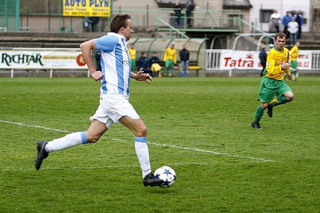 Krajský přebor ve fotbale: Hlinsko v derby porazilo Třemošnici 2:1.