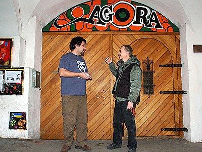 Nízkoprahový klub Agora v Chrudimi.