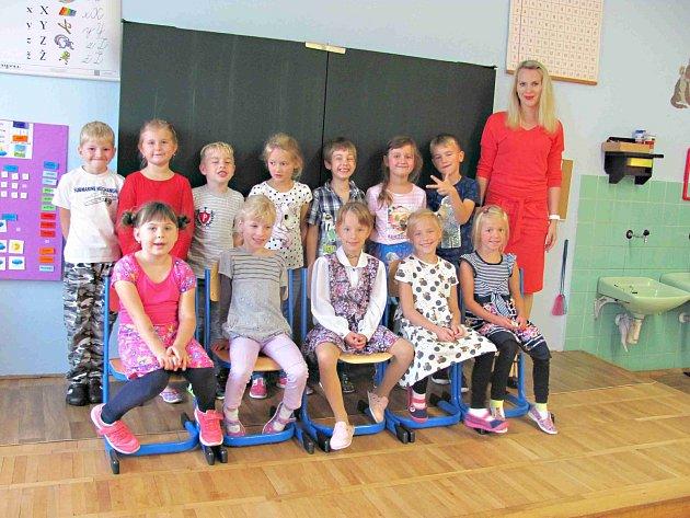 Dnes představujeme prvňáčky ze Základní školy vBojanově, jejichž třídní učitelkou je Pavlína Chytrá.