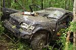 Při tragické nehodě u Kladna na Hlinecku zemřeli dva lidé.