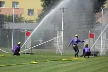 O pohár usilovalo jednatřicet týmů hasičů.