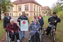 Účastníci projektu  Rotopedtours a Pěškotours