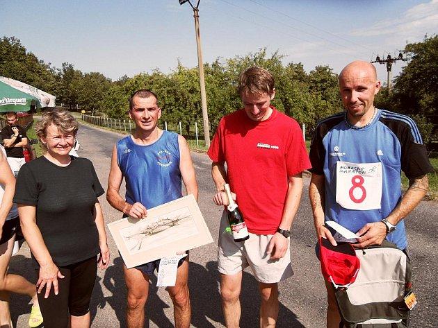 Monackého maratonu se účastnilo 45 běžců.