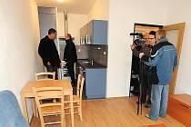 Chrudimský Dům na půl cesty nabídne klientům moderní prostorné byty.