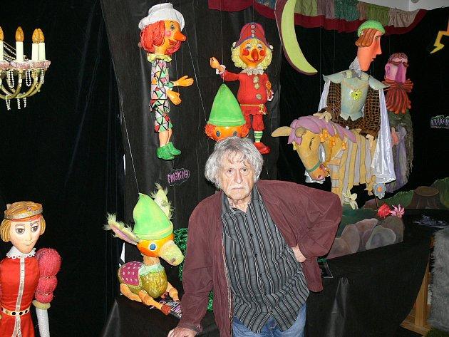 Jiří Procházka slatiňanskou výstavu otevřel.