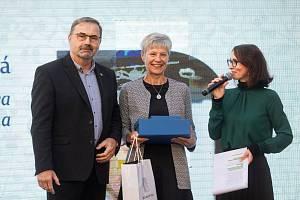 Ilona Vojancová získala krajské ocenění