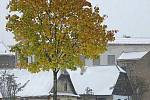 Předčasná říjnová zima v Hlinsku.