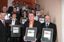 Starostové převzali ocenění v soutěži Zlatý erb.