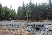 Rekonstruované lesní cesty.