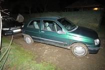 Nehoda mezi Ronovem a Bousovem.