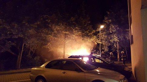 Požár se podařilo hasičům podařilo dostat rychle pod kontrolu.