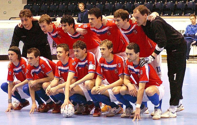 Futsalová kvalifikace ČR - Rumunsko.