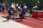 Mladí hasiči se v Hlinsku snažili ze všech sil, aby se dostali na červnové mistrovství republiky v Přerově, které bude v režii České hasičské jednoty.