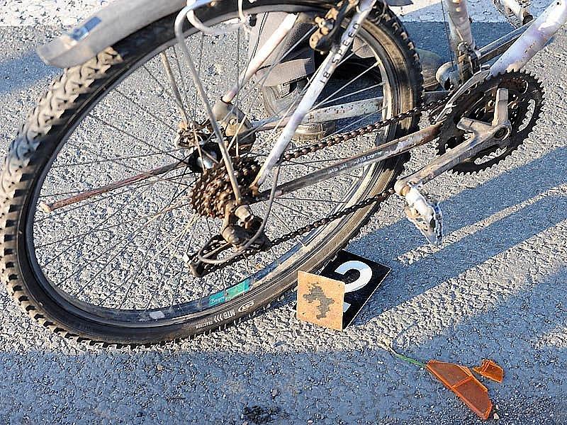 Dopravní nehoda cyklisty - ilustrační foto