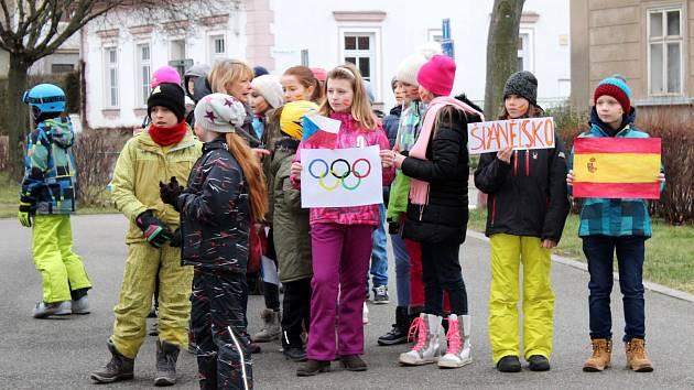 Školympiáda na Základní škole ve Slatiňanech