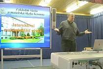 Krounská škola je počítačovou gramotností svých žáků již pověstná v širokém okolí.