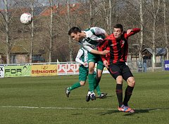 Z utkání ČFL Bohemians -  MFK Chrudim 2:0.