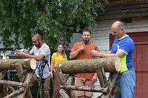Den dřeva a medu v hlineckém Betlémě.