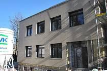 Březen 2011: V Hlinsku zdařile pokračuje stavba nového multifunkčního centra.