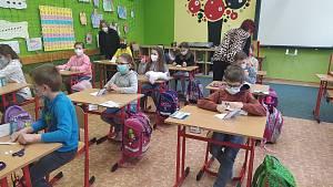 Testování v základní škole Bohemia