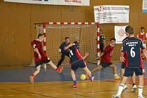 Z futsalového turnaje soukromých středních škol v Chrudimi.