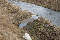Do kanalizace v Zaječicích unikly ropné látky neznámého původu.