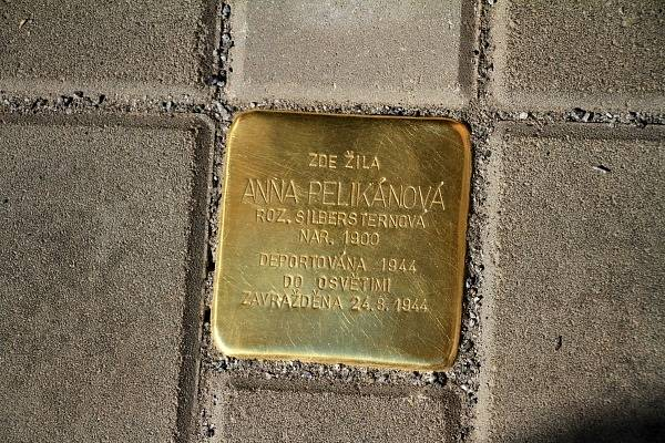 Kameny zmizelých v Chrudimi.