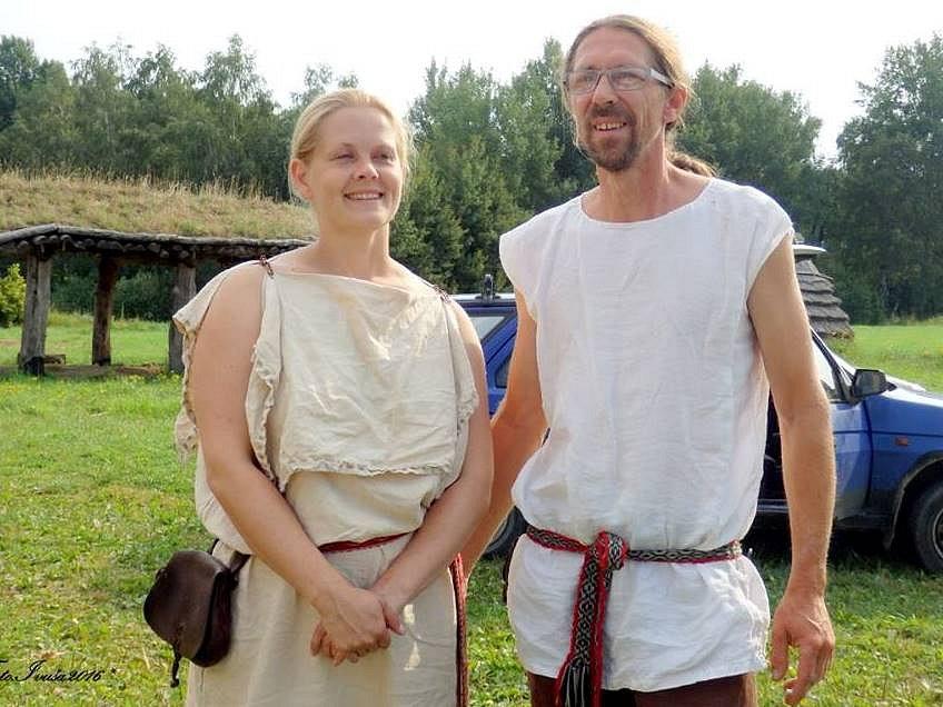 Keltové z Nasavrk sklidili úrodu obilí
