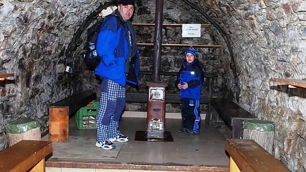 V trampské hospůdce Pod Drnem v Hoješíně zahájili novou sezonu.