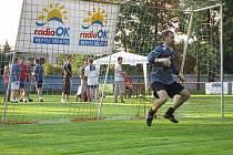 """Vyhlášení """"penaltáři"""" se utkali v osmém ročníku Heřmanoměstecké penalty."""