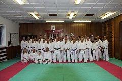 Všichni účastníci si seminář s Shihanem Takeji Ogawou velmi pochvalovali.