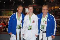 Hlinečtí zástupci na Mistrovství světa v karate WUKF.