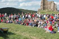 Na Lichnici se konalo pod záštitou města Třemošnice Vítání léta s bohatým programem.