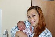 NELA KYNCLOVÁ (3,4 kg a 49 cm) je od 3.9. od 16:25 prvorozenou dcerou Darji a Tomáše zChrudimi.