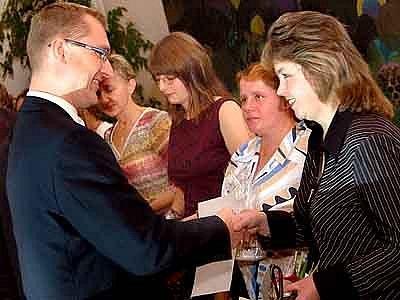 V hlineckém muzeu se porpvé předávaly ceny Křesadlo, které jsou oceněním za dobrovolnickou práci.