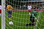 Z fotbalového utkání AFK Chrudim B - Slatiňany.