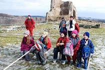 Tradiční zimní táboření na Lichnici přilákalo o víkendu 4. - 6. února 2011 asi tři desítky táborníků.