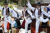 Na Adámkových folklorních slavnostech v Hlinsku vystoupil i zdejší soubor Vysočan