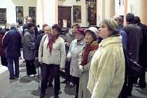 Zástupci města a chrudimské farnosti odhalili v kostele Nanebevzetí Panny Marie pamětní desku hudebnímu skladateli Aloisi Hniličkovi.
