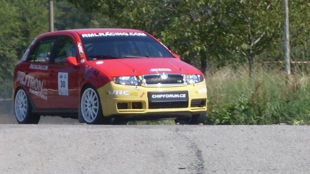 Z dvanáctého ročníku Mogul Rallye Železné hory.
