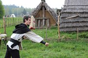 Barbarské hry v Keltském archeoskanzenu Nasavrky