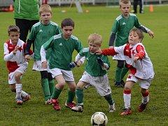 Na Den dětí si dalo v Hlinsku dostaveníčko šestnáct družstev fotbalových přípravek ročníku narození 2005 z celé České republiky, aby se utkali v Talent Cupu 2013.